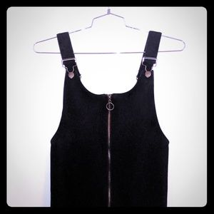 Overall mini dress/top